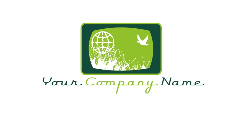 Logo for Sale for the film or televison industry with an environmental green element.