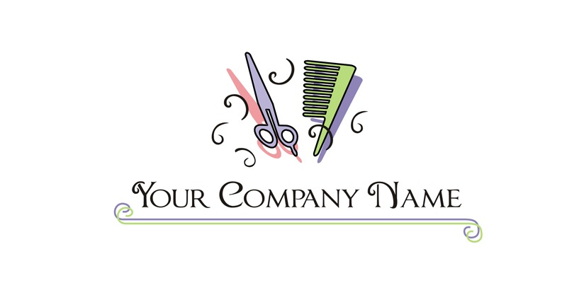 Logo for Sale for hairdresser and beauty consultant.